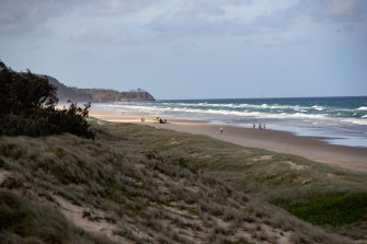Sunrise Beach is identified as one of the region's most at-risk from rising sea levels.