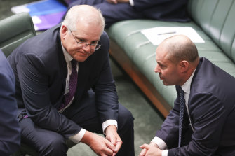 Prime Minister Scott Morrison and Treasurer Josh Frydenberg are planning to deliver two budgets before the next election.