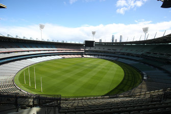 The MCG will have 50 per cent capacity for the start of the 2021 AFL season.