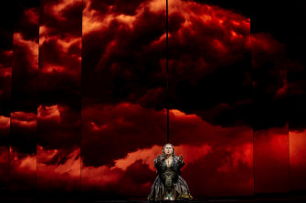 Leah Crocetto as Aida in the Opera Australia production.