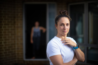 Launch Housing helped physical therapist Keona Weller and her daugher Lillee pay the rent.