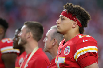 Patrick Mahomes guided the Chiefs to the Super Bowl.