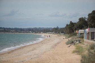 Summer seemed to be never-ending at the family beach house on the Mornington Peninsula.