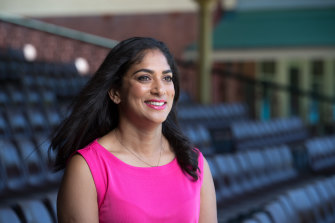 Well informed: Former Australian all-rounder turned commentator Lisa Sthalekar has called out Geoff Boycott.