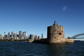 Fort Denison will be upgraded to be used as a bar and restaurant in Sydney Harbour.