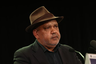"""Noel Pearson said Indigenous recognition was not a project of """"woke identity politics""""."""