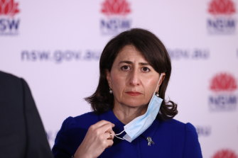 NSW Premier Gladys Berejiklian said some students could return to schools earlier than October 25.
