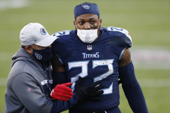 The Ravens kept Derrick Henry under wraps.