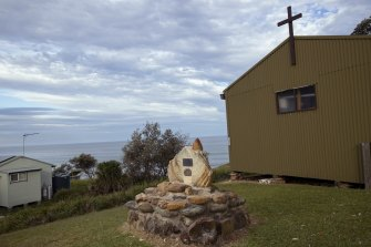 The state's smallest war memorial at Little Garie.