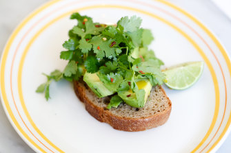 Our national dish? Avocado toast.