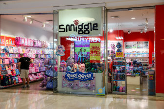 The retailer, which runs brands such as Peter Alexander, Smiggle and Just Jeans, said the bumper result was thanks to strong trading over the Easter holiday period and Mother's Day.