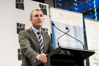 Planning Minister Rob Stokes says he holds concerns about apartment supply.