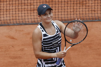 Ash Barty is a strong performer on clay.