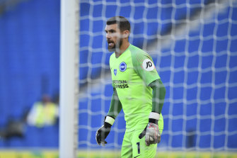 Brighton goalkeeper Mathew Ryan is now the only Australian player in the Premier League.