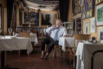 Lucio Galletto at his Paddington restaurant.