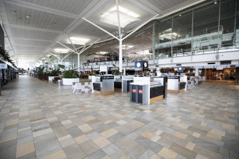 The breach occurred inside Brisbane International Airport on Thursday.