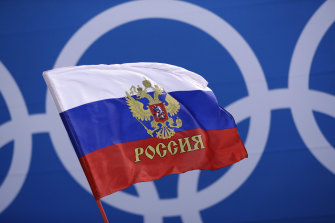 Russia will not be able to use its name, flag and anthem at the next two Olympics.