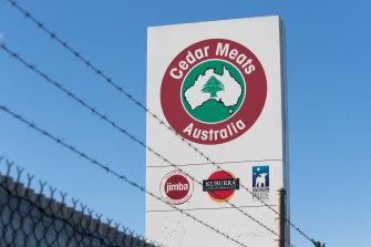 Cedar Meats meat processing plant in Brooklyn, in Melbourne's west.