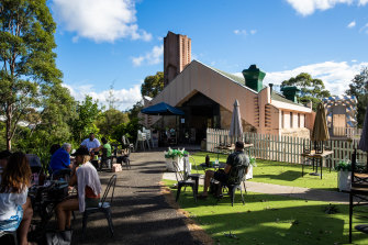 The Walter Burley Griffin Incinerator in Willoughby is now a cafe.