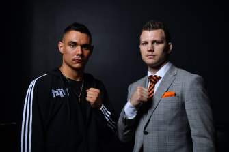 Brisbane or Townsville loom as the likely venue for Tim Tszyu and Jeff Horn's blockbuster fight in April.