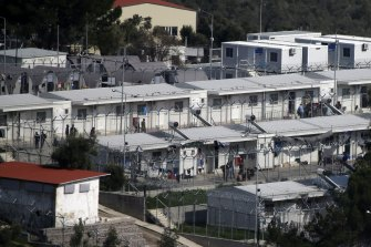The Moria refugee detention centre on the north-eastern Greek island of Lesbos has exceeded its capacity by 400 per cent.