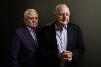Daniel Goulburn and Tony King lost their wives to pancreatic cancer.