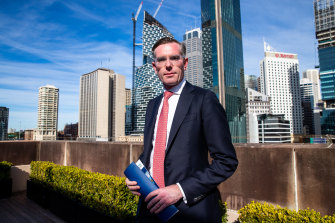 NSW Treasurer Dominc Perrottet has been working on a $50 million bid to keep Qantas in NSW.