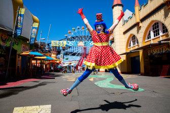 Luna Park will reopen on October 23.