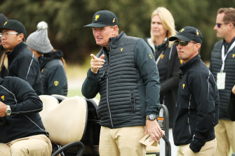 Internationals captain Ernie Els has pointed the Presidents Cup in the right direction.