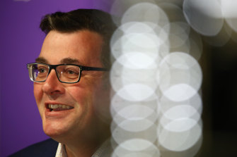 Daniel Andrews had good news on Wednesday.