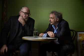 Ed Kuepper (left) and Jim White have joined forces for a run of live shows starting this month.