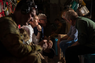 The first Australian Defence Force evacuation flight departed Kabul with 26 people on board.