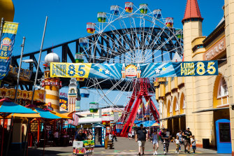 Luna Park celebrated its 85th birthday in October.