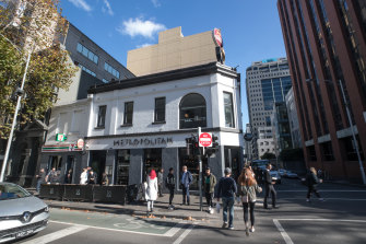A 20-storey complex will rise above the Metropolitan Hotel at 263 William Street.