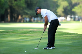 Patrick Reed is still having to deal with the golf scandal that won't quit.