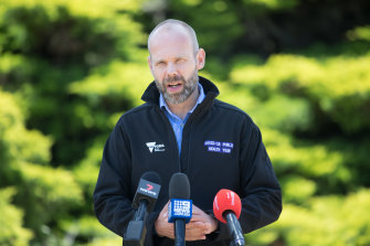 Victoria's testing commander Jeroen Weimar said the government's position was non-negotiable.