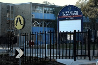 Riverstone High School is one of three schools closed today.