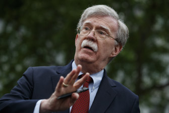 """You're fired"": US national security adviser John Bolton."