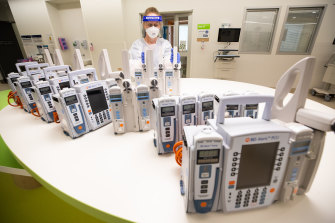 More ICU beds will need more specialist staff.