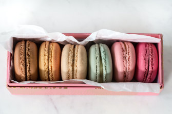 Macarons are not a food often prepared at home, and the likelihood of cooking them decreases further in a public-health crisis.