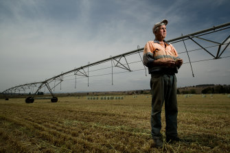 """It's going to be a very tough year"": Jeff McSpedden, a fifth-generation farmer."