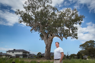 Frankston City councillor Glenn Aitken is pushing for more protection for river red gums.