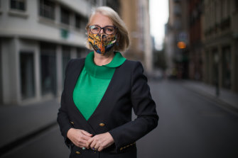 Melbourne lord mayor Sally Capp was elected in the 2018 byelection.