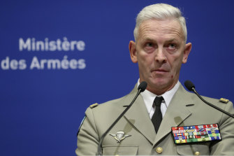 French Army Chief of Staff General Francois Lecointre.