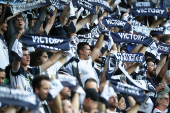Melbourne Victory has a huge fan base.