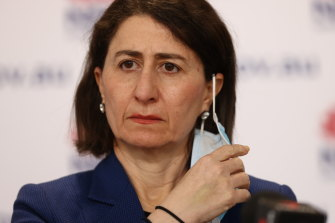 Premier Gladys Berejiklian has said she will not be regularly attending the 11am daily press conferences