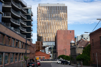 The Northumberland development in Collingwood, Melbourne.