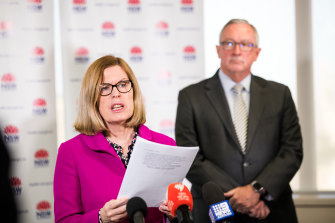 NSW and Chief Health Officer Dr Kerry Chant says the two new cases at Newhmarch House are being investigated.
