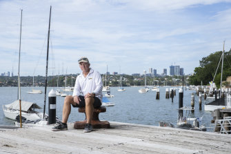 Alan Gregory, Balmain Sailing Club's race director, is hoping for independent advice on health risks.