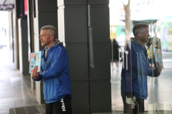 Big Issue vendor Michael fears he could end up on the street.